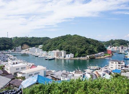 家島の風景
