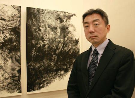 講師の柴山さんは、気楽で楽しいアートマーケットをつくっています