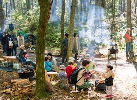 50年の森林(もり)ビジョンを掲げる伊那市