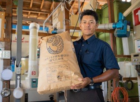 地域資源例:無農薬栽培のお米や野菜(生きものに優しい農法に取り組んでいます)