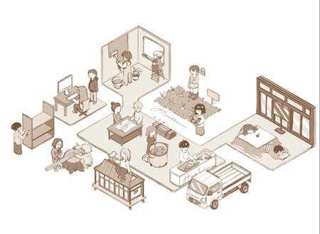 Hinatabocco 田舎暮らしのビジュアルイメージ
