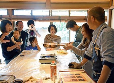 リノベーションした「村井邸」にて行われたイベント「コーヒー生豆 焙煎・ハンドドリップ講座」