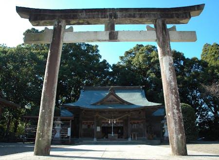 コノハナノサクヤヒメを祀る都萬神社