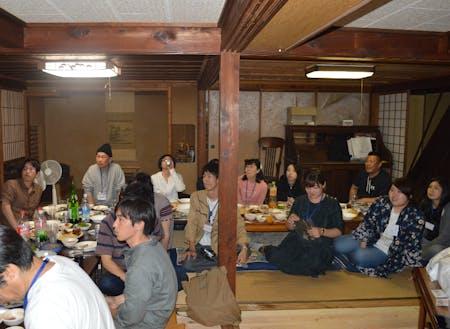 移住希望者と協力隊の交流会イベント