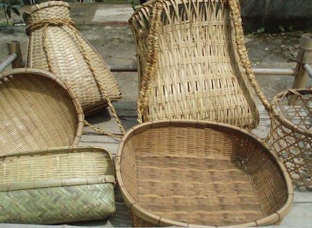 日常で使う自作の竹製品