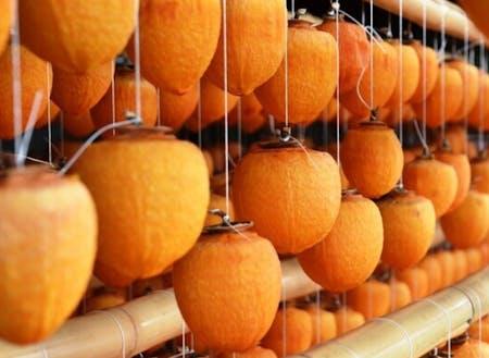 南砺市は干し柿の産地として全国的に有名です!