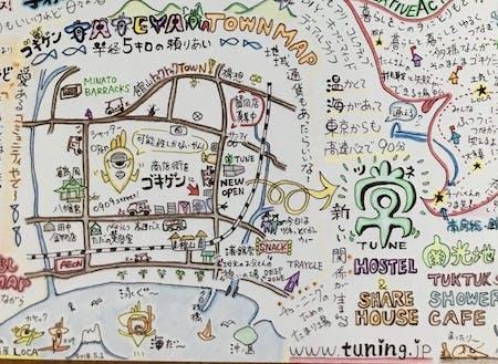 館山駅・海辺を中心に半径5kmをトゥクトゥクが巡回する仕組みを企画中