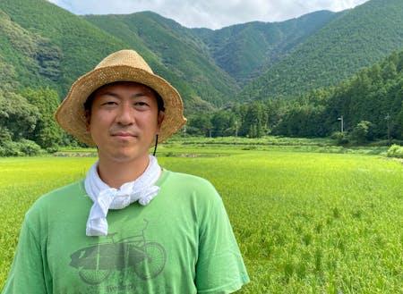 多智花光男さん(三原村)