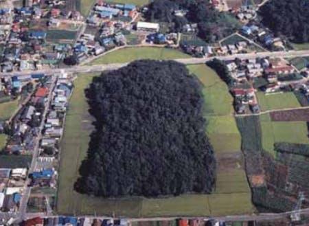 東日本最大の太田天神山古墳(太田市)