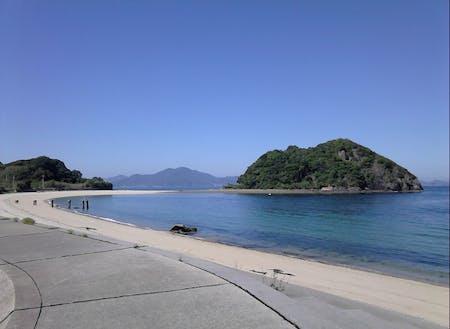 柱島群島には美しい海岸がたくさんあります。
