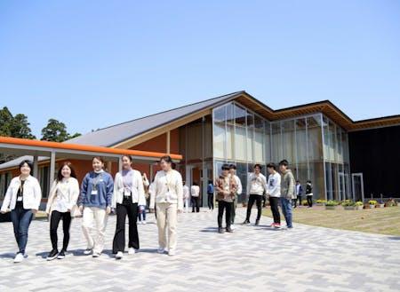 2021年に「あわらキャンパス」に完成した教育棟