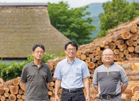 森と木を愛する林業チーム
