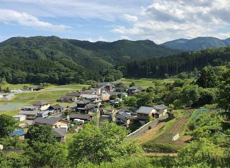 募集エリア②いわき市田人地区 里山の風景