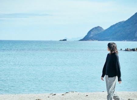 朝起きてすぐ海。そんなウミチカ暮らしも