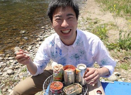 防災をテーマに活動されている小野さん。可燃ごみ担当。